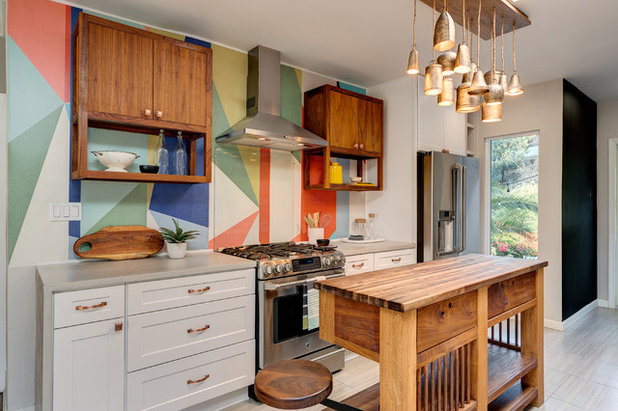 Eclectic Kitchen by NICHE home styling
