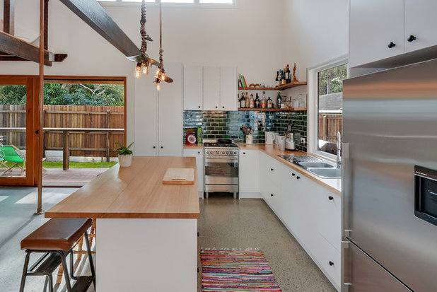Industrial Kitchen by Basalt Constructions