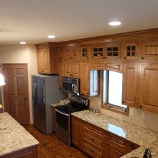 Craftsman Kitchen by K.L. Design