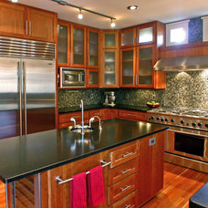 Contemporary Kitchen by Sellentin True Design Build