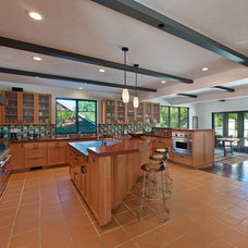 Mediterranean Kitchen by Cody Anderson Wasney Architects, Inc.