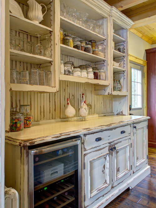 Kitchen pantry in other with an undermount sink raised panel cabinets - Kitchen Pantry Design Ideas Renovations Amp Photos With