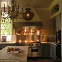 mediterranean kitchen by Andrea Michaelson Design