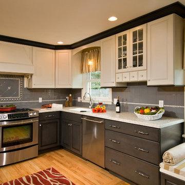 Multi Colored Kitchen