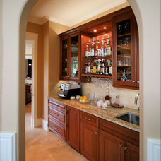Traditional Kitchen by Diane Plesset, CMKBD, NCIDQ, C.A.P.S.