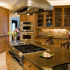 Contemporary Kitchen by Urban Kitchens and Baths, Inc.