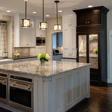Transitional Kitchen by Drury Design