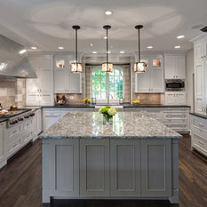 White, Taupe, And Cocoa Bean Colored Cabinetry From Grabill Cabinet Company  Provides A Neutral Backdrop For High Impact Details. The 72u201d Custom Built  Zinc ...