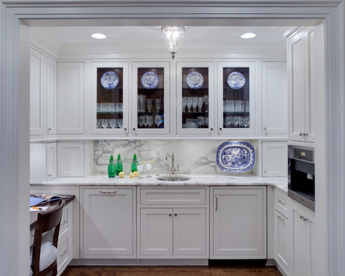 Butlers Pantry With Desk | Houzz