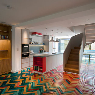 MULTICOLOURED HERRINGBONE