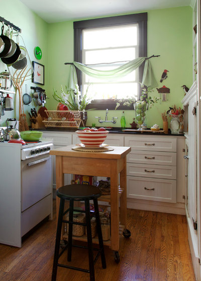 Eclectic Kitchen by Margot Hartford Photography