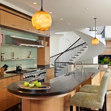 contemporary kitchen by Interior Stone & Tile