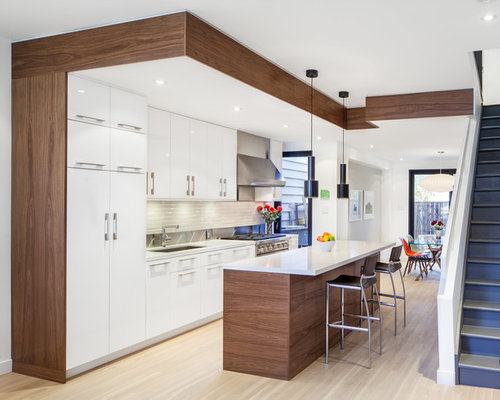 Best ikea sofielund walnut design ideas remodel pictures for Kitchen design houzz