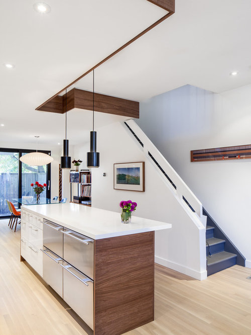 Walnut Kitchen Island | Houzz