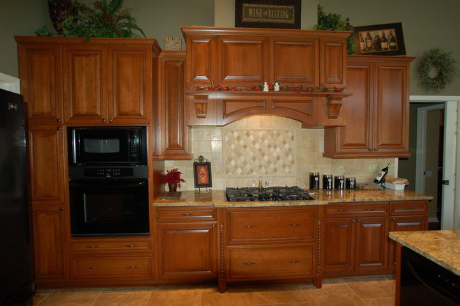 Traditional Kitchen by The Bath and Kitchen Gallery, inc.