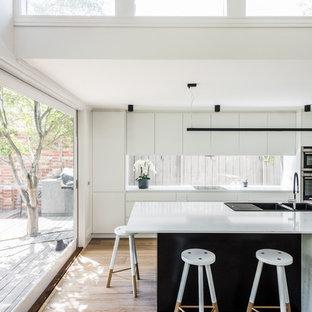 50 Modern White Kitchen Design Ideas Stylish Modern White Kitchen