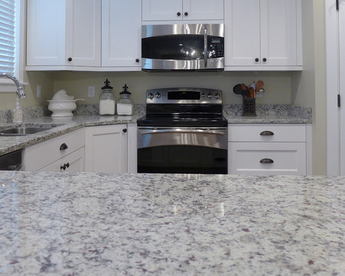 Ashen White Granite Houzz