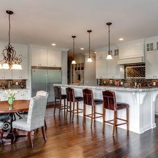 Traditional Kitchen by Brentwood Cabinets LLC