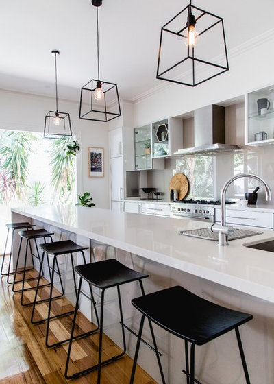 15 Pendant Lights To Showcase Your Kitchen Island Houzz