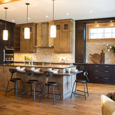 Traditional Kitchen by MK Design Group Inc.
