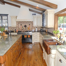 Farmhouse Kitchen by His Life Woodworks