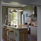 Modern Meets Edwardian Transitional Kitchen South
