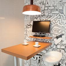 Contemporary Kitchen My Apartment - Kitchen