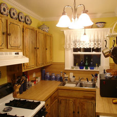 Traditional Kitchen My compact kitchen