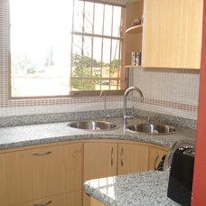Contemporary Kitchen by Mina Herrera Design LLC