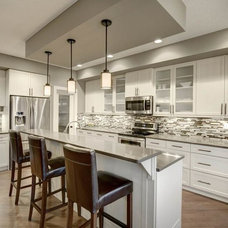 Contemporary Kitchen by Allison Lenz