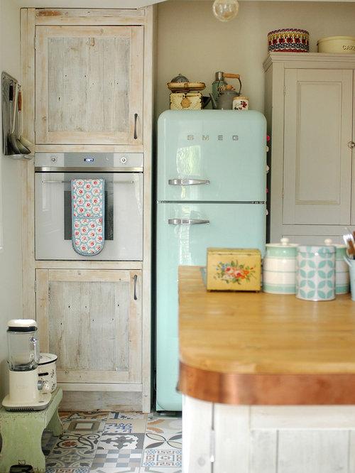 Cucina smeg fridge