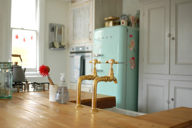 Eclectic Kitchen by Patchwork Harmony