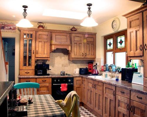 Rustic Dublin Kitchen Design Ideas Renovations Photos