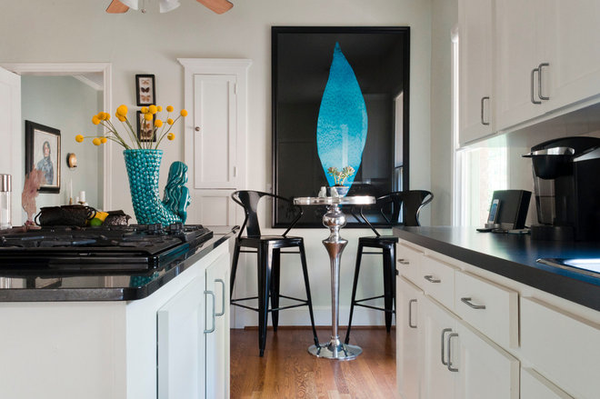 contemporary kitchen by Angela Flournoy