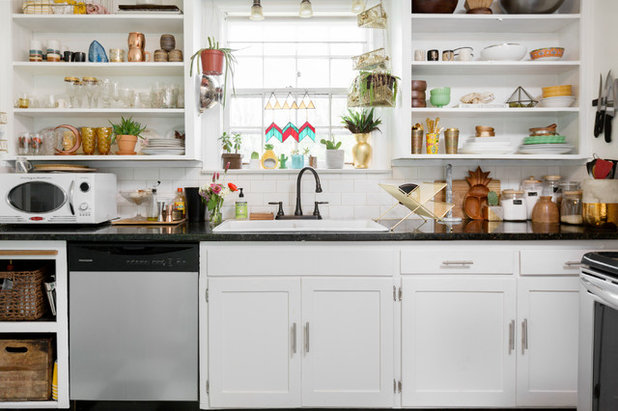 Eclectic Kitchen by Caroline Sharpnack