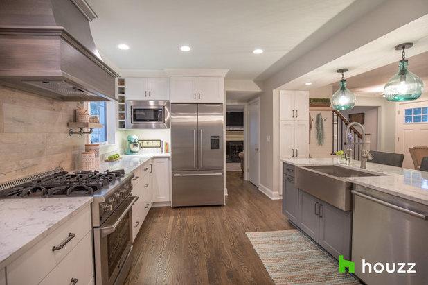 Transitional Kitchen by Hurst Design Build Remodeling