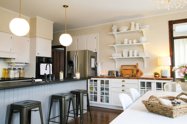 eclectic kitchen cabinets my houzz a century s worth of charm in maryland 3519