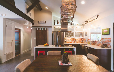My Houzz: Modern Industrial Style for a DIY Update in Austin
