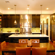 Contemporary Kitchen by Kara Mosher