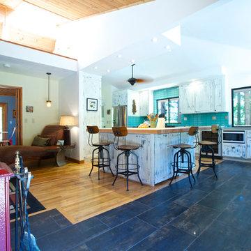 My Houzz: A Farmhouse-Style Getaway in the Santa Cruz Mountains