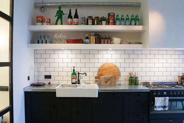 My Houzz: Domesticating a Rugged Amsterdam Garage