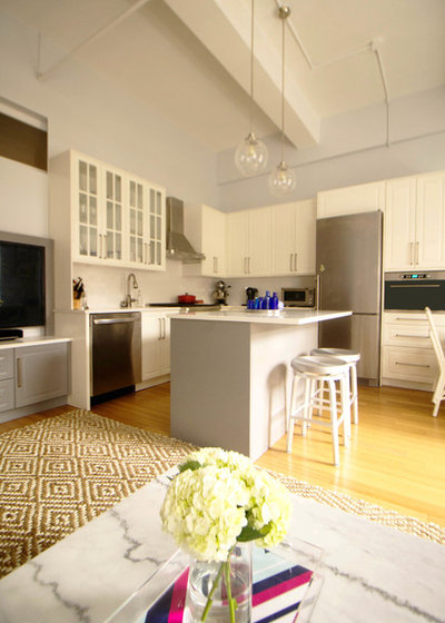Perfect Transitional Kitchen by Sarah Seung McFarland