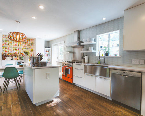 Orla Kiely Stem Wallpaper Kitchen Design Ideas