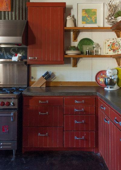 Eclectic Kitchen by Angela Flournoy