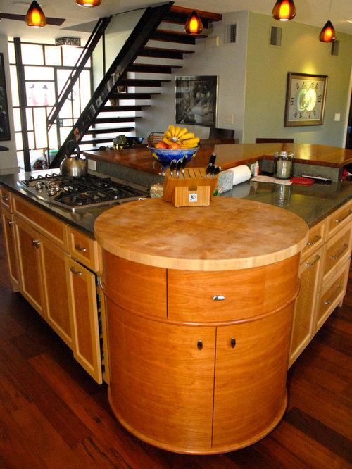 Birds eye maple home design ideas renovations photos for Birds eye maple kitchen cabinets