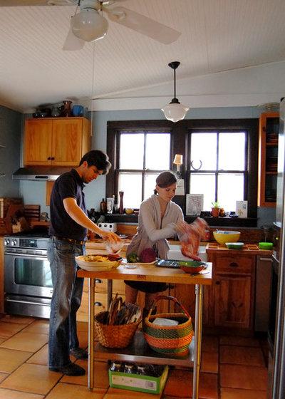 Farmhouse Kitchen by Corynne Pless