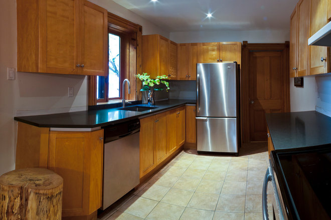 Contemporary Kitchen by Emily Campbell