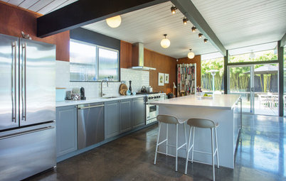 Vintage Modern Homes My Houzz Updated Midcentury Home With Scandinavian Charm
