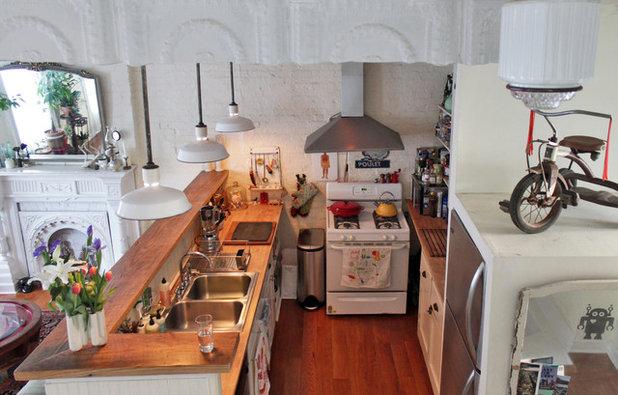 Shabby-Chic Style Kitchen by Laura Garner