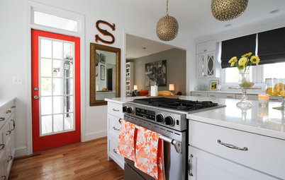 My Houzz: Art and Fashion Inspire in a Maryland Family Home